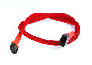 Shakmods-30cm-4-pin-PWM-Fan-Red-Sleeved-Extension-Cable