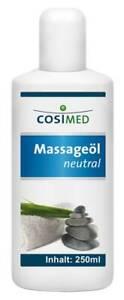 (31,60 EUR/l)  Massageöl neutral von cosiMed, 250 ml