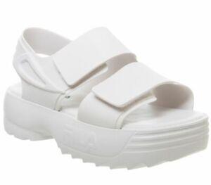 Womens-Fila-Melissa-Fila-Sandals-White-Sandals