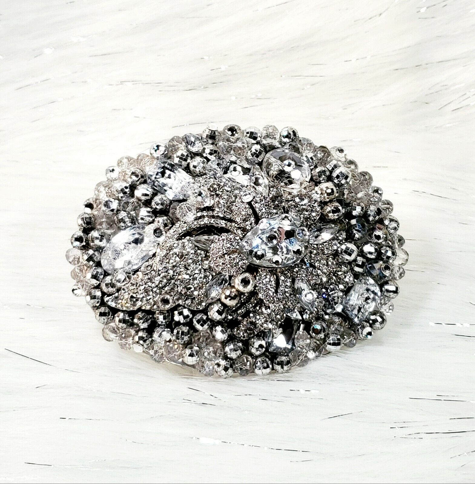 Embellished Stunning Bling Buckle jewels & Swk Crystals.Statement Buckle!!!