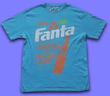 FANTA..MEDIUM.RETRO VINTAGE ADVERT PRINT COCA-COLA TEE TOP TU T-SHIRT SAINSBURYS