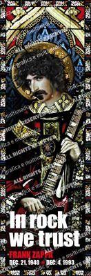 Candido Frank Zappa Fridge Magnet Calamita In Rock We Trust Official Merchandise Essere Famosi Sia A Casa Che All'Estero Per Una Lavorazione Squisita, Un Abile Lavoro A Maglia E Un Design Elegante