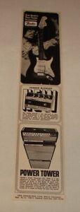 1968 JIMI HENDRIX Fender Blender Power Tower ad ~ Stratocaster