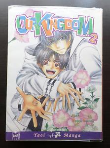 """Our Kingdom"" Volume 2 by Naduki Koujima (YAOI Manga)"