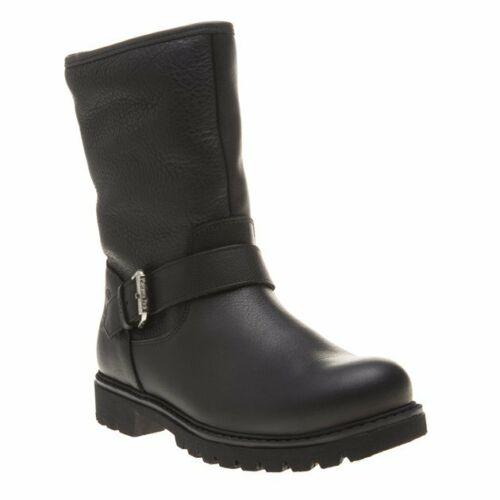 Panama Jack Womens Singapur Flats Boots Black