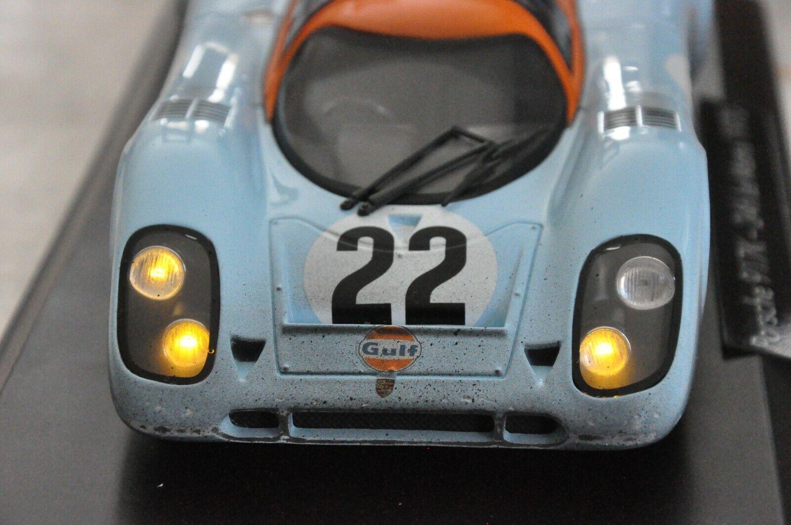 los nuevos estilos calientes CODEX FINISH LINE 1 18 Porsche Porsche Porsche 917K Le Mans 71  22  Night Version Norev  ordene ahora los precios más bajos