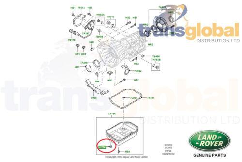 Range Rover L322 5 Speed ZF Gearbox Oil Drain Plug GENUINE LR UYP000070