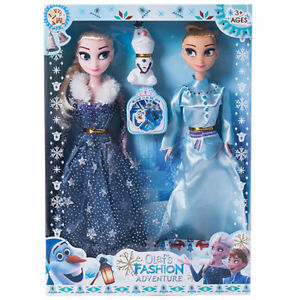 3PCS-Playset-Frozen-Princess-Elsa-Anna-Olaf-Doll-Figures-Birthday-Gifts-For-Kids