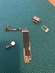 Apple-iPhone-8-plus-256GB-gold-unlocked-GSM-logic-board-home-button-A1864