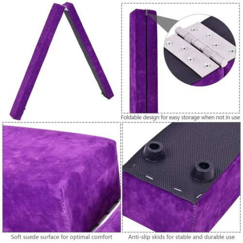 Details about  /7/' Sectional Gymnastics Floor Balance Beam Skill Training Folding Sporting Goods