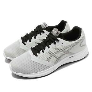 Asics-Patriot-10-Grey-Black-Men-Running-Training-Shoes-Sneakers-1011A131-023