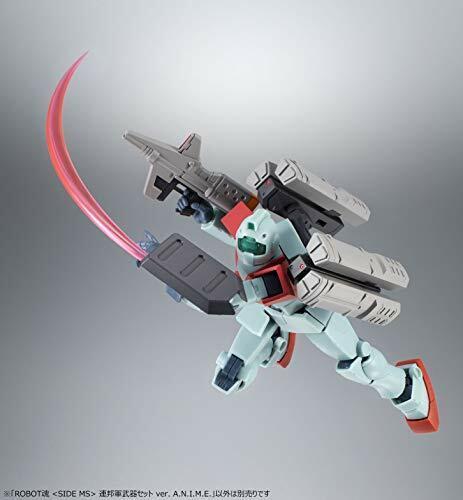 ROBOT SPIRITS SIDE MS Gundam THE EARTH FEDERATION FORCE WEAPON SET BANDAI NEW