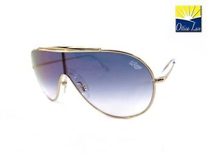 5cbbecd8f2 RAY BAN Wings Mascherina 3597 001 X0 Metallo Oro Sfumato Blu 001 X0 ...