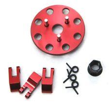 STRC ST4142XR Clutch Shoes/Flywheel Set Red (3) Traxxas Nitro Slash / Revo 3.3
