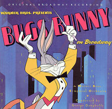 Bugs Bunny on Broadway by Warner Bros. Orchestra (CD, Jan-1991, Warner Bros.NEW