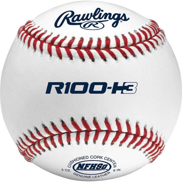 Rawlings Leather NFHS High School Baseballs One Dozen R100-H3 R100-H3 R100-H3 481f84