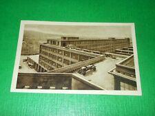 Cartolina Torino - FIAT - L'accesso delle macchine alla pista 1930 ca