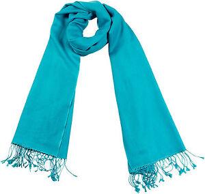 Pashmina-Schal-Tuerkis-70x198-70-Cashmere-30-Seide-Silk-scarf-turquoise