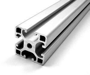 aluprofil 40 x 40 mm nut 8 alu profile aluminium solar. Black Bedroom Furniture Sets. Home Design Ideas