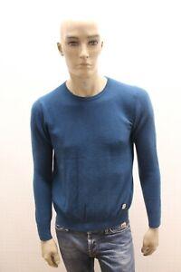 Maglione-LIU-JO-Uomo-Sweater-LIU-JO-Pull-Maglia-Pullover-Man-Taglia-Size-L