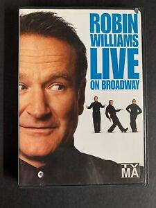 Robin Williams - Live On Broadway (DVD, 2002) 74645517797 ...