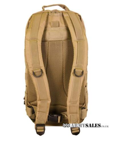 Rucksack Bag Backpack COYOTE Tan SMALL 28L Molle Assault Pack by Kombat UK