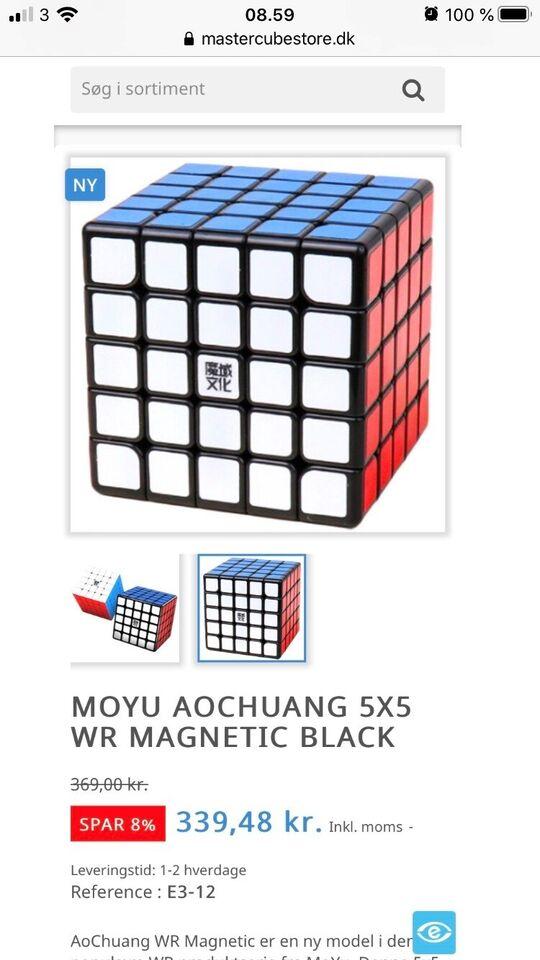 Puslespil, Rubiks 5x5