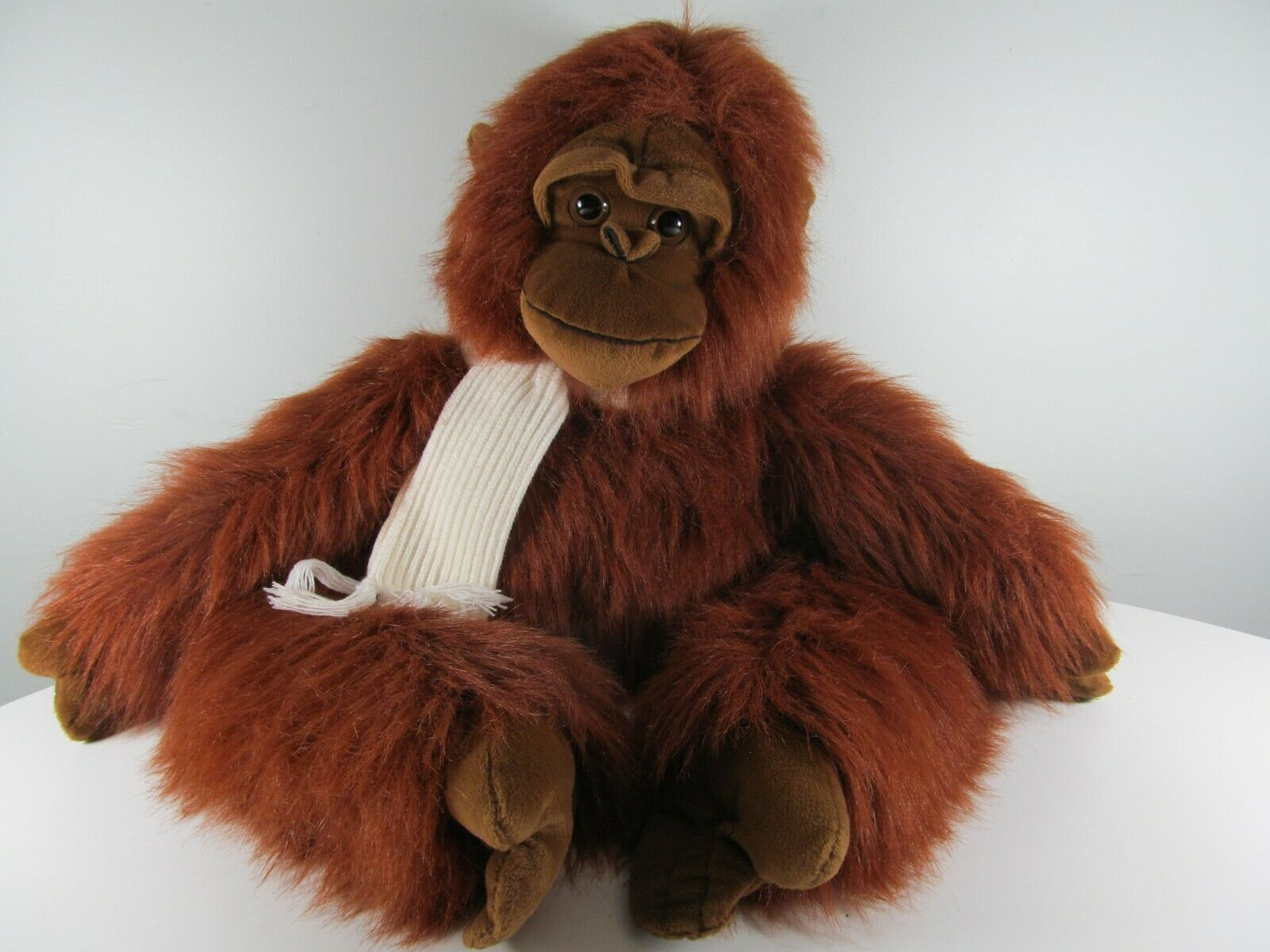 Rare  Orville  rosso Gorilla Proffitts Hand Crafted Plush Stuffed Animal from Saks
