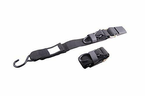 Marine Transom Trailer Boat Tie Downs Straps,Trailer to Boat Safety.2-pack