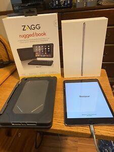 Apple Ipad Mini 4 128gb Wi Fi 7 9in Space Gray W Zagg