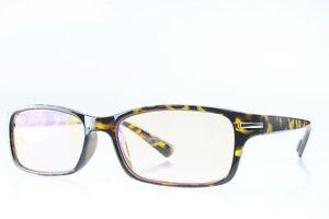 Blue-Light-Blocking-Computer-Reading-Glasses-Light-Tinted-Lens-2-50-Gloss-Tort