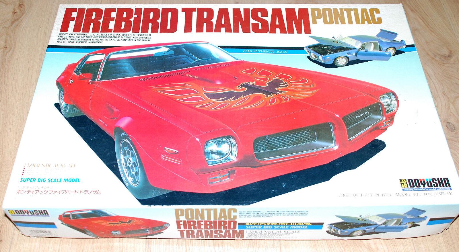 PONTIC Firebird TransAm 1 12 Modèle Kit Kit de Doyusha  RARE