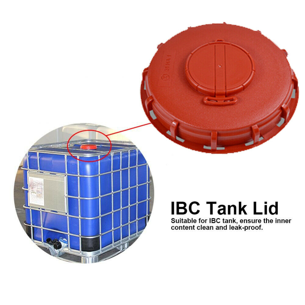 Pack of 2- STRONG IBC TANK FILLER COVER CAN LID FOR TANK 150 mm WITH VENTILATION