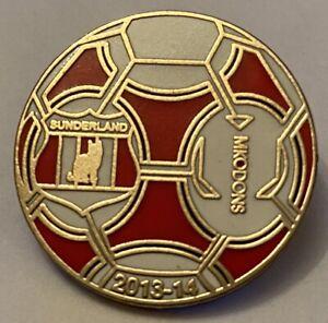 Sunderland V MK Dons Championship 2013-14 Season Match Day Football Pin Badge