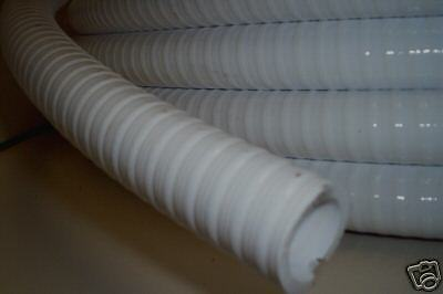 Marine White Waste Hose For Boat Toilets (38mm/ 1 1/2)