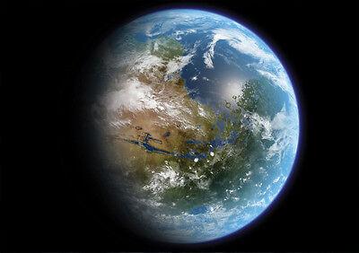 Sezione Speciale Sticker Autocollant Poster A4 Fantastic Science-fiction Terre-earth Inconnue . Medulla Benefico A Essenziale
