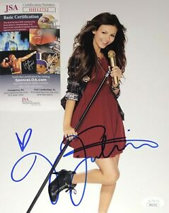 Victoria Justice Sexy Actress Victorious Signed 8x10 Photo
