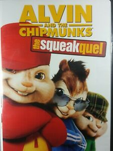 Alvin And The Chipmunks 2 The Squeakquel 2009 Pg Family Comedy Movie Dvd Ebay