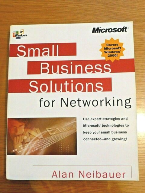 (NEW) Microsoft Small Business Solutions Networking. Paperback book. Windows