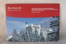 Brooks, Gstaad A Sale of Ferrari Motor Cars [ PRE-Catalogue entries] 18 DEC 2001