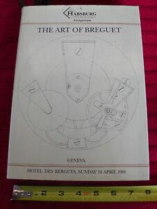 HABSBURG-ART-of-BREGUET-WATCHES-Napoleon-Bonaparte-Auction-Catalog-1991-HC