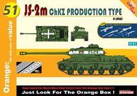 Cyber Hobby Js-2m Chzk Production Type 1/35 Model Kit 9151