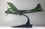 New-1-144-Green-WWII-USAF-B-29-Superfortress-Bomber-Aircraft-3D-Alloy-Model thumbnail 1
