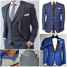 Custom Made to Measure Bespoke Men?s Slim and Classic Fit Business Formal Suit