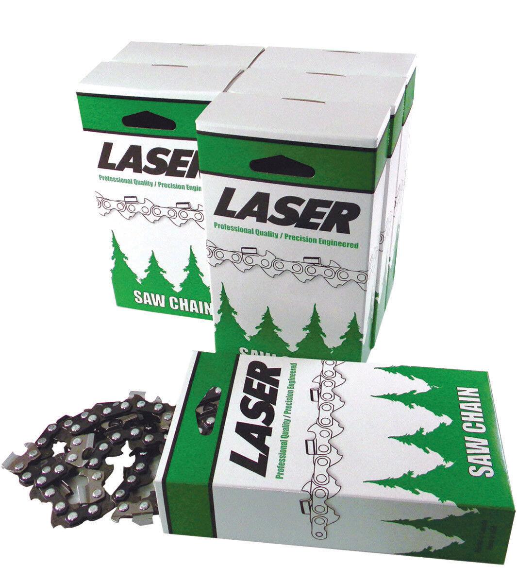 16  cadena 3 8LP.043x 55 DL láser hecho en EE. UU. se adapta a muchos Stihl Sierras. 6 Paquete de 16
