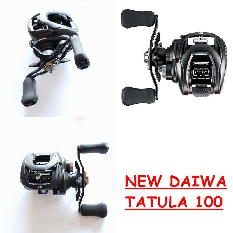 NEW DAIWA CASTING TATULA 100HL  E 100HSL  ALLEGGERITO e PIU' COMPATTO top