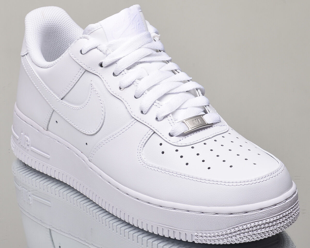 new product e0391 54e61 best Nike Air Force 1 07 Low All White AF1 mens lifestyle casual sneakers  NEW white