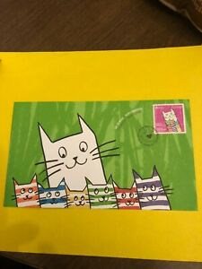 Canadian cover with cats