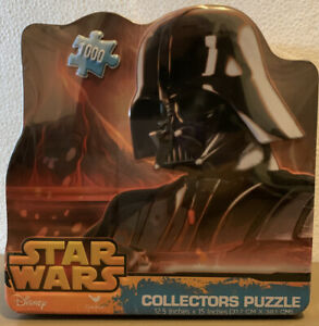 Star Wars The Force Awakens -1000 Piece Puzzle -In Collectors Tin Darth Vader