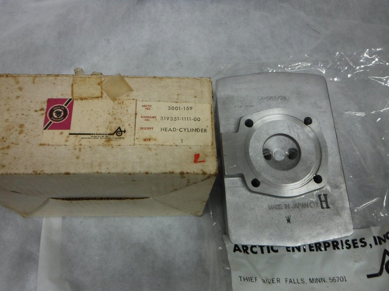 Arctic Cat 3001-159 twin plug cylinder head EXT 440 440 RX2A